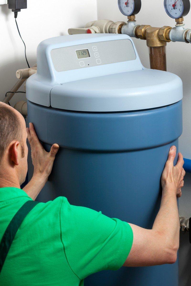 Water-Softener Plumbing