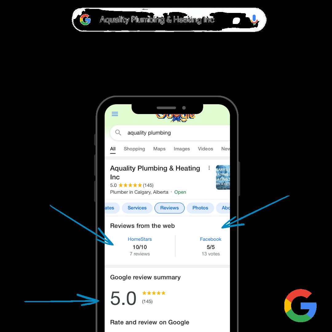 Google-Reviews Plumbing